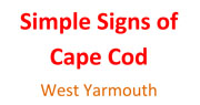Simple Signs of Cape Cod