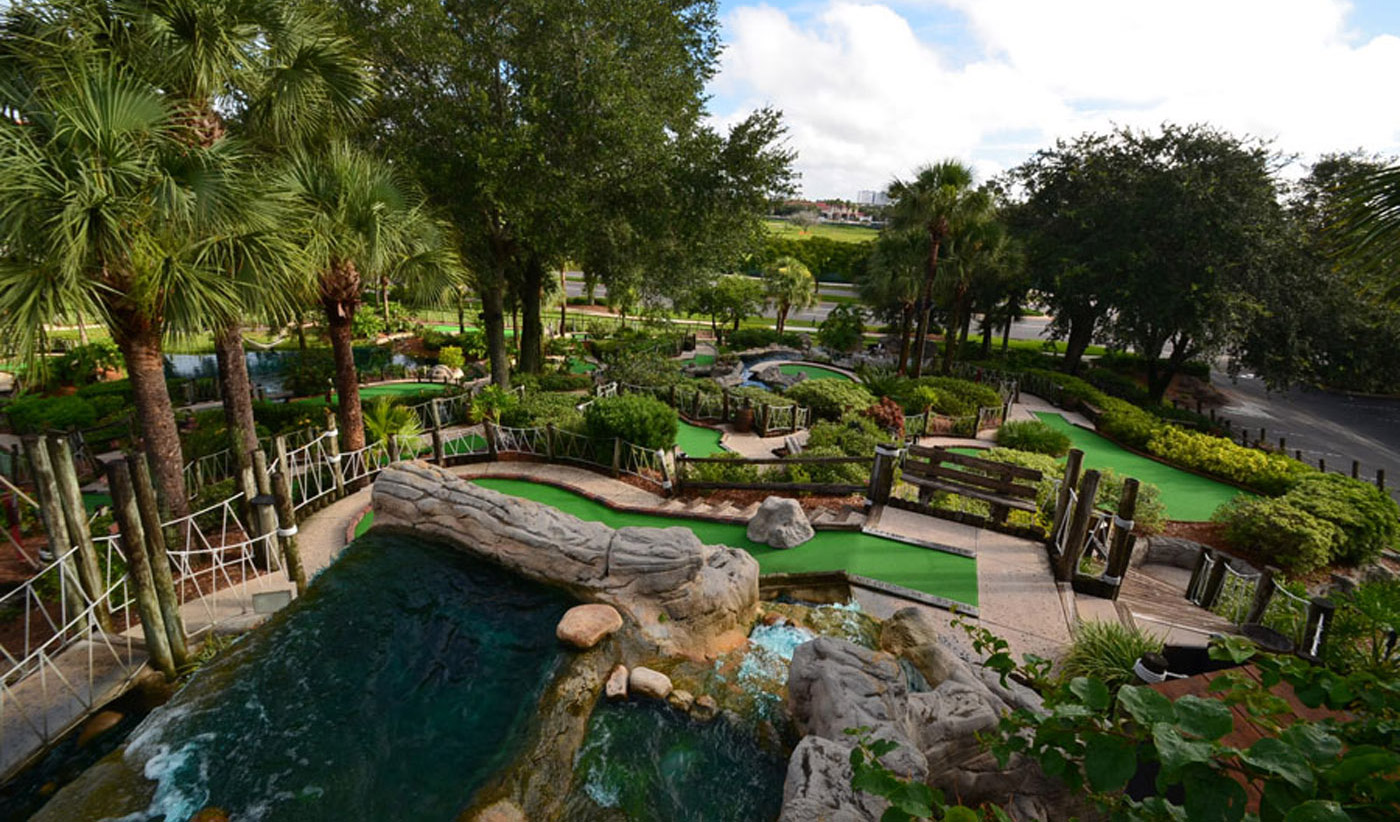 Florida's Favorite Miniature Golf Course is located right here in Fort Myers, Florida!